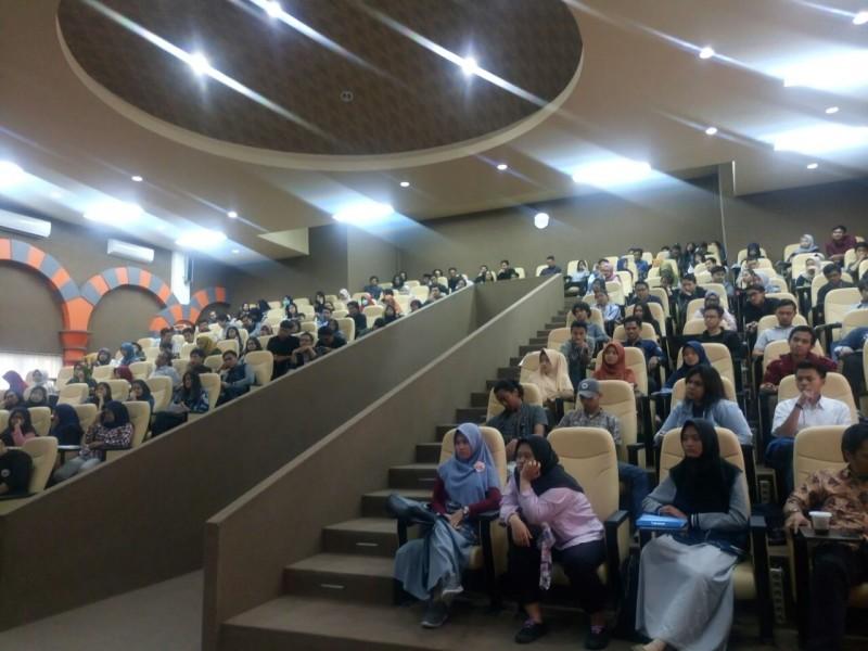 Peserta sosialisasi Seminar Proposal Skripsi