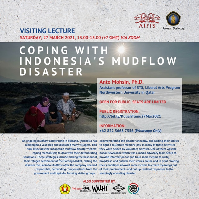Kuliah Tamu Coping With Indonesia's Mudflow Disaster